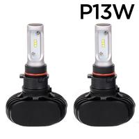 Светодиодные лампы P13W CSP N1 LED 4000Lm комплект - 2 шт