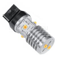 LED лампа Дилас 7440 - WY21W - Т20 Bridgelux SMD 3535 6 LED оранжевая