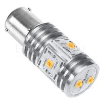 LED лампа Дилас 1156 - PY21W - BAU15S Bridgelux SMD 3535 6 LED оранжевая