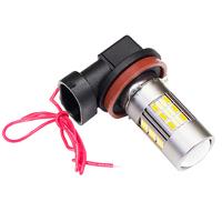 Светодиодная лампа DualFog 62 SMD4014 H11 ДХО - поворотник