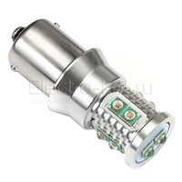 Светодиодная лампа Mini CREE XBD 10 LED 1156 - PR21W - BA15S красная