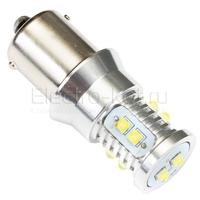 Светодиодная лампа Mini CREE XBD 10 LED 1156 - P21W - BA15S
