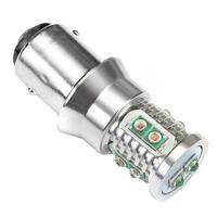 Светодиодная лампа Mini CREE XBD 10 LED 1157 - PR21/5W - BAY15D красная