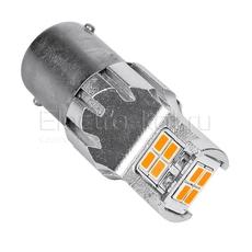 Светодиодная LED лампа Atomic 12 SMD3020 PR21W BA15S красная