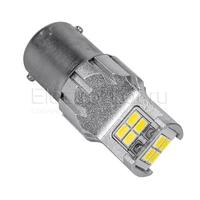Светодиодная LED лампа Atomic 12 SMD3020 P21W BA15S белая
