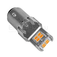 Светодиодная LED лампа Atomic 12 SMD3020 PR21/5W BAY15D красная