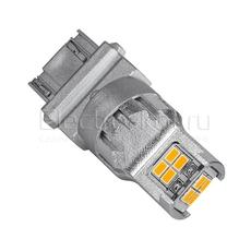 Светодиодная LED лампа Atomic 12 SMD3020 PY27/7W 3157 желтая