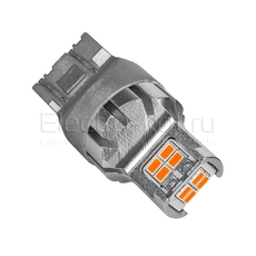 Светодиодная LED лампа Atomic 12 SMD3020 WR21/5W 7443 красная