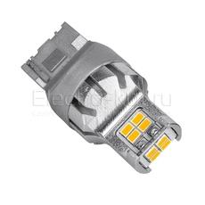 Светодиодная LED лампа Atomic 12 SMD3020 WY21W 7440 желтая