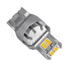 Светодиодная LED лампа Atomic 12 SMD3020 WY21/5W 7443 желтая