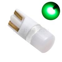 Диодная лампа 360 Light Samsung LED чипы 1W T10 - W5W зеленая