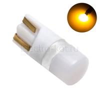 Диодная лампа 360 Light Samsung LED чипы 1W T10 - W5W желтая