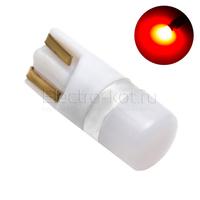 Диодная лампа 360 Light Samsung LED чипы 1W T10 - W5W красная
