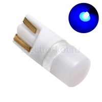 Диодная лампа 360 Light Samsung LED чипы 1W T10 - W5W синяя