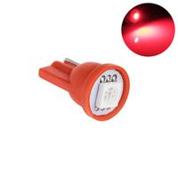 Светодиодная лампа направленного света 1 LG SMD 5050 T10 W5W красная