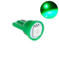 Светодиодная лампа направленного света 1 LG SMD 5050 T10 W5W зеленая
