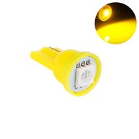 Светодиодная лампа направленного света 1 LG SMD 5050 T10 W5W желтая