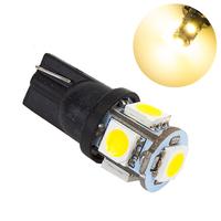 Светодиодная лампа LG SMD 5050 5 LED T10 W5W 3000K