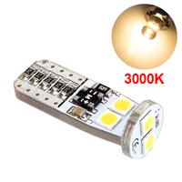 LED лампа со стабилизатором и обманкой 6 SMD3030 T10 W5W 3000K