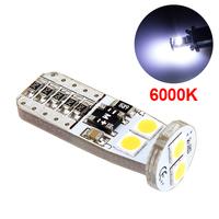 LED лампа со стабилизатором и обманкой 6 SMD3030 T10 W5W 6000K