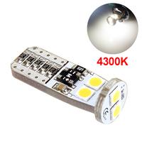LED лампа со стабилизатором и обманкой 6 SMD3030 T10 W5W 4300K
