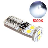 LED лампа со стабилизатором и обманкой 6 SMD3030 T10 W5W 5000K