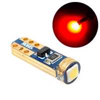 LED лампа с обманкой GOLDEN 1 SMD 3030 T5 красная