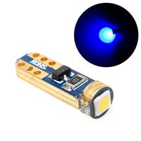LED лампа с обманкой GOLDEN 1 SMD 3030 T5 синяя