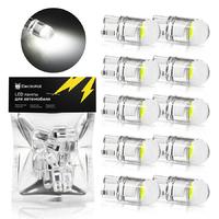 Светодиодная лампа для авто ElectroKot Crystal T10 W5W 5000K белый свет 10 шт