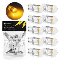 Светодиодная лампа для авто ElectroKot Crystal T10 W5W 1900K оранжевый свет 10 шт