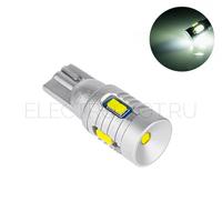 Светодиодная лампа T10 W5W Super Canbus 9 CSP2020 9-40V 6 Вт белая