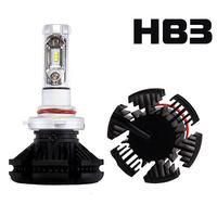 Светодиодные лампы HB3 ZES X3 комплект - 2 шт