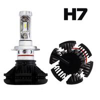 Светодиодные лампы H7 ZES X3 комплект - 2 шт