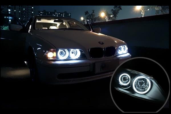 BMW E36 Ангельские глазки CCFL, SMD, RGB - 30 у.е.