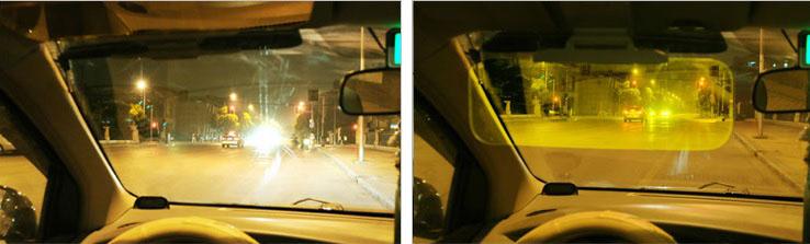 светофильтр под козырек авто