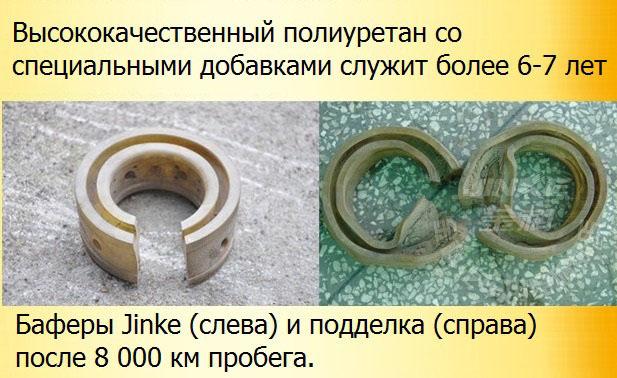 Межвитковые уретановые проставки в пружины Jinke - 2шт