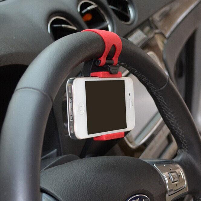 Держатель телефона на руль автомобиля универсальный