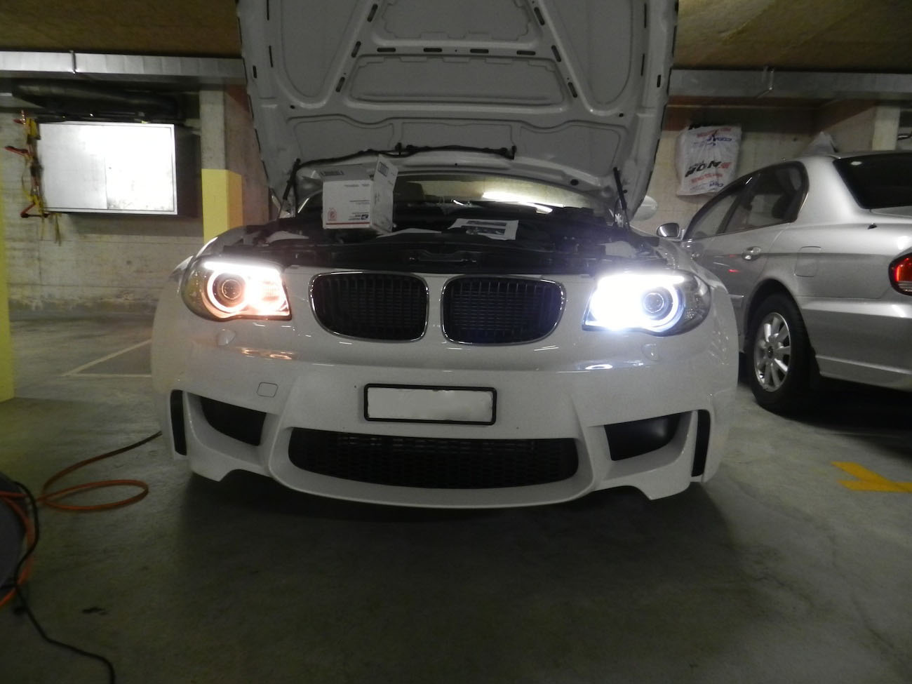 ангельские глазки rgb на BMW e38