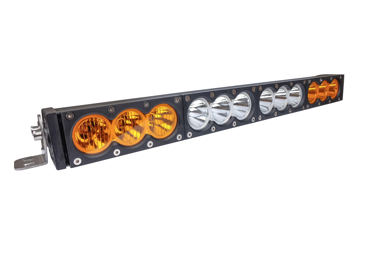 Двухцветная LED люстра на крышу внедорожника 12 CREE 120W Combo купить